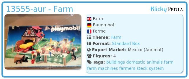 Playmobil 13555-aur - ferme