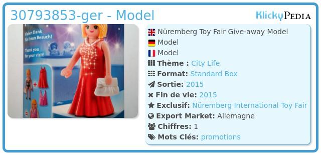 Playmobil 30793853-ger - Nüremberg Toy Fair Give-away Model