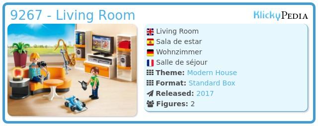 Playmobil wohnzimmer modern for Wohnzimmer 9267