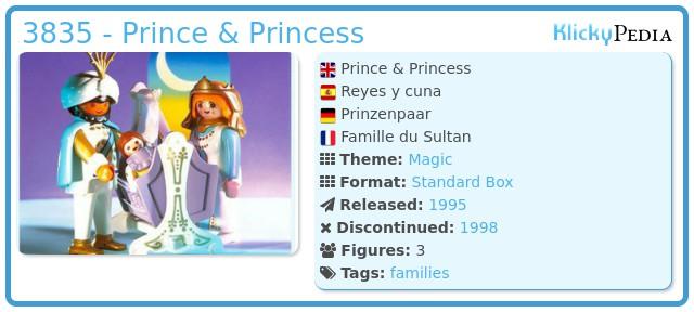Playmobil 3835 - Prince & Princess