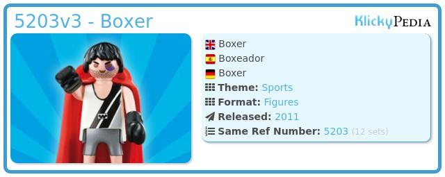 Playmobil 5203v3 - Boxer