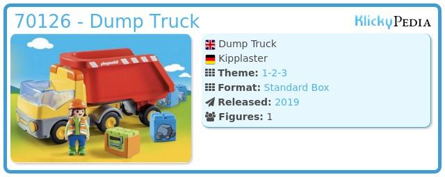 Playmobil 70126 - Kipplaster