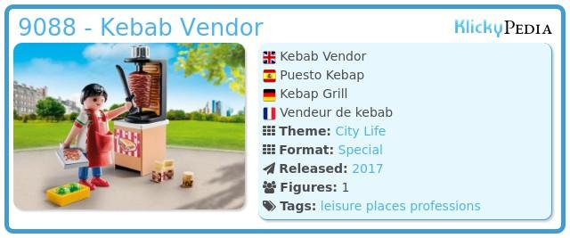 Playmobil 9088 - Kebab Vendor