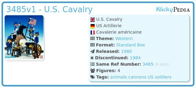 Playmobil 3485v1 - U.S. Cavalry