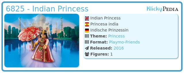 Playmobil 6825 - Indische Prinzessin