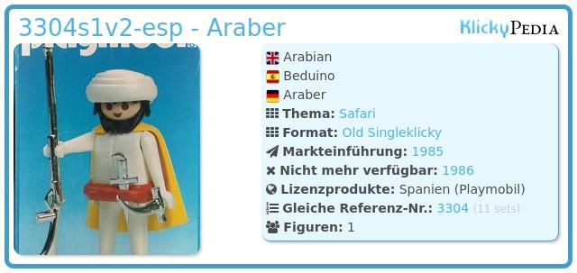 Playmobil 3304v2-esp - Araber