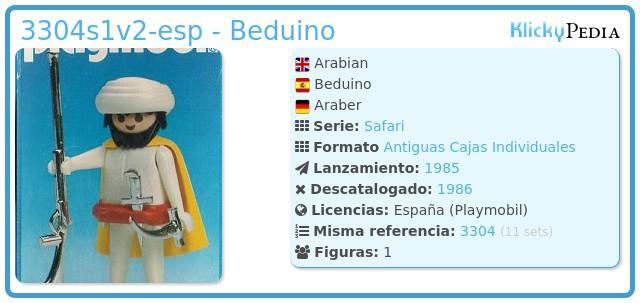 Playmobil 3304v2-esp - Beduino