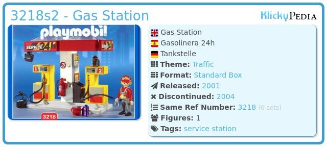 Playmobil 3218s2 - Gas Station