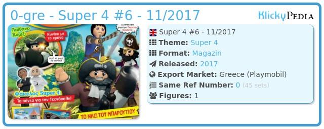 Playmobil 0-gre - Super 4 #6 - 11/2017