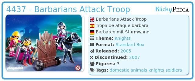 Playmobil 4437 - Barbarians Attack Troop
