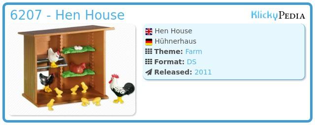 Playmobil 6207 - Hen House