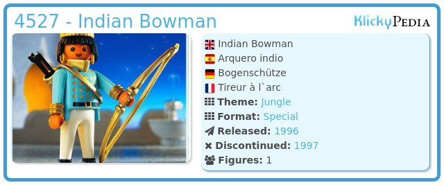 Playmobil 4527 - Indian Bowman