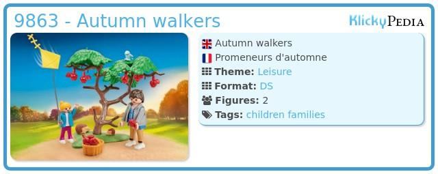 Playmobil 9863 - Autumn walkers