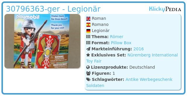 Playmobil 30796363-ger - Legionär