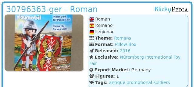 Playmobil 30796363-ger - Roman