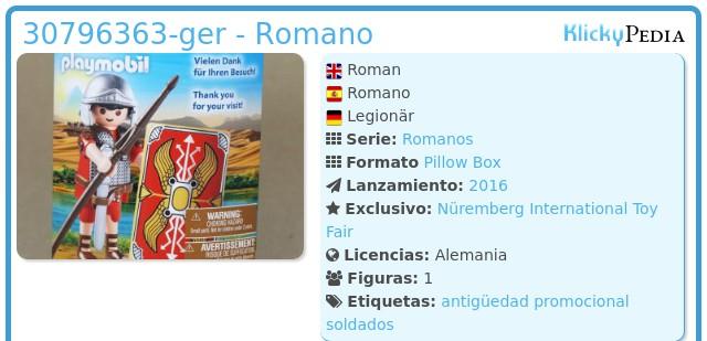 Playmobil 30796363-ger - Romano