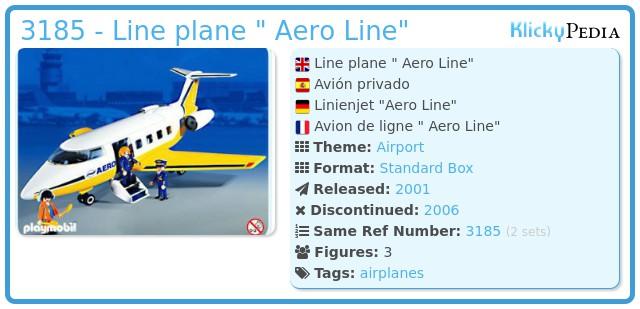 Playmobil 3185 - Jet