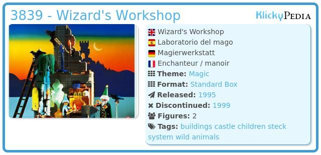 Playmobil 3839 - Wizard's Workshop