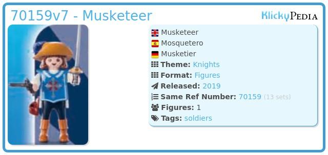 Playmobil 70159v7 - Musketeer