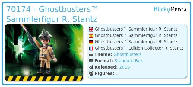Playmobil 70174 - Ghostbusters™ Sammlerfigur R. Stantz