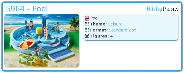Playmobil 5964 - Pool