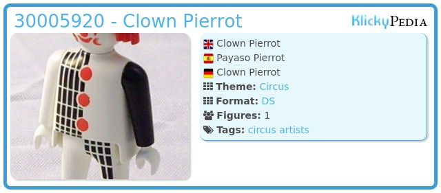 Playmobil 30005920 - Clown Pierrot