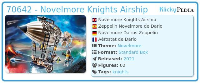 Playmobil 70642 - Novelmore Knights Airship