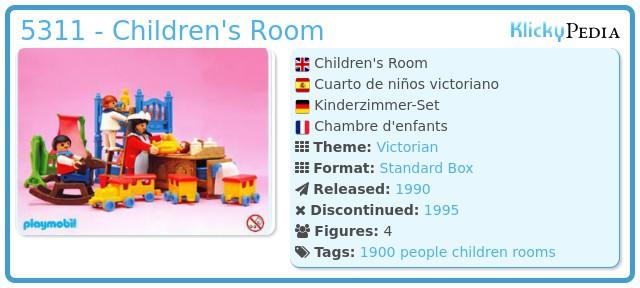 Playmobil 5311 - Children's Room