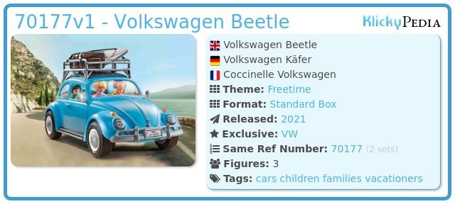 Playmobil 70177 - Volkswagen Beetle