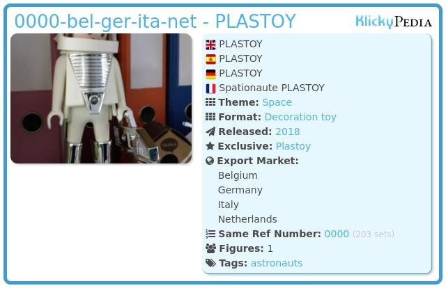 Playmobil 0000-ger-bel-net-ita - PLASTOY