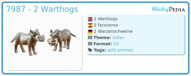 Playmobil 7987 - 2 Warthogs