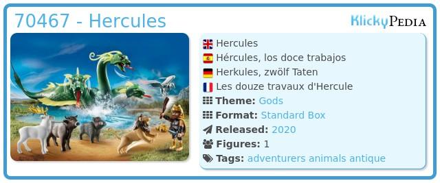 Playmobil 70467 - Hercules