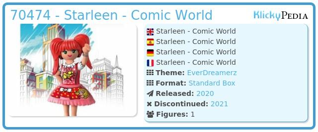 Playmobil 70474 - Starleen - Comic World