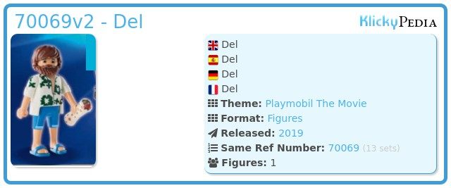 Playmobil 70069v2 - Del
