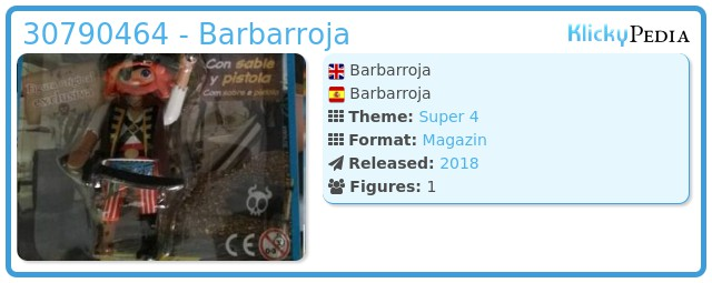 Playmobil 30790464 - Barbarroja