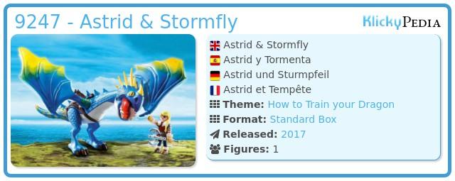 Playmobil 9247 - Astrid & Stormfly