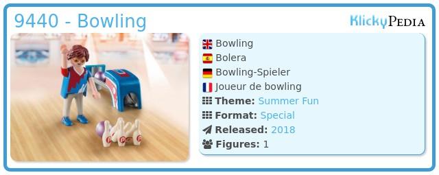 Playmobil 9440 - Bowling