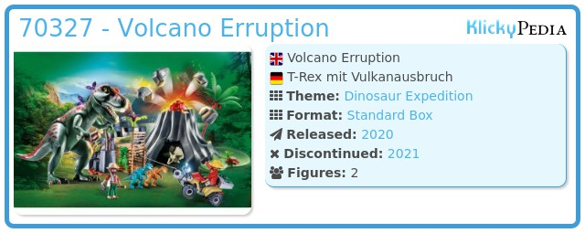 Playmobil 70327-gre - Volcano Erruption