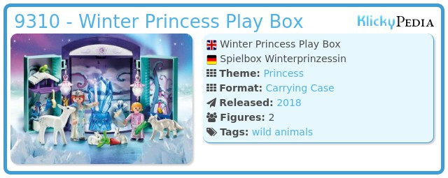 Playmobil 9310 - Winter Princess Play Box