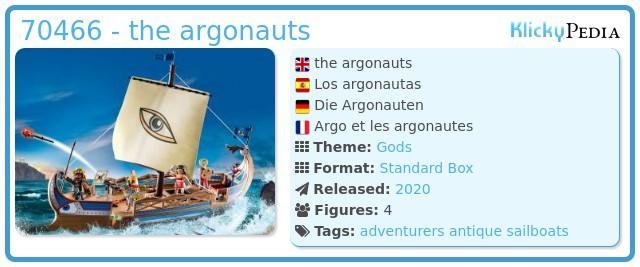 Playmobil 70466 - the argonauts