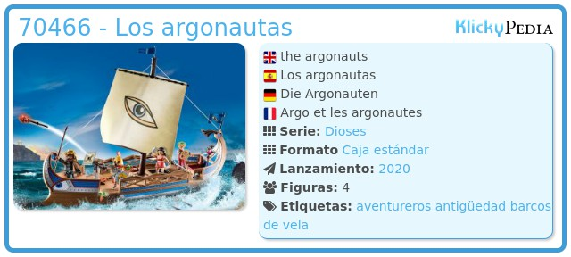 Playmobil 70466 - Los argonautas
