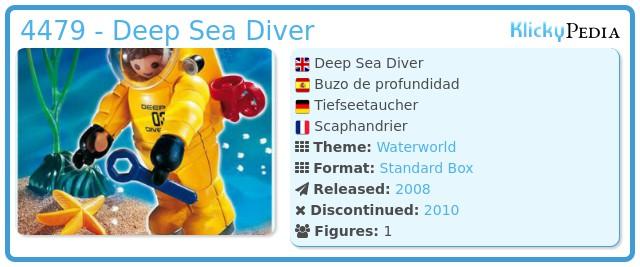 Playmobil 4479 - Deep Sea Diver