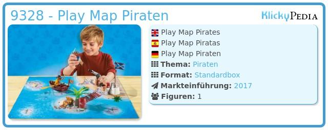 Playmobil 9328 - Play Map Piraten