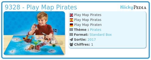 Playmobil 9328 - Play Map Pirates