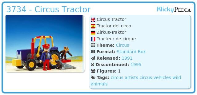 Playmobil 3734 - Circus Tractor