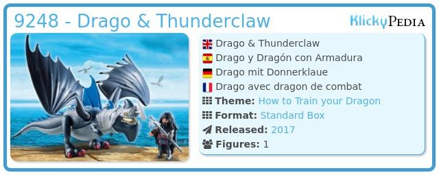 Playmobil 9248 - Drago & Thunderclaw