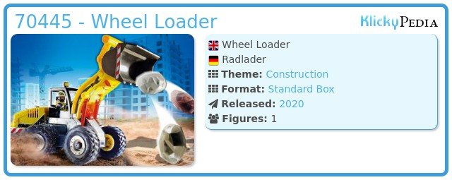 Playmobil 70445 - Wheel Loader