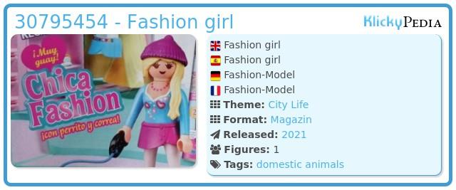 Playmobil 30795454 - Fashion girl
