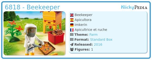 Playmobil 6818 - Beekeeper