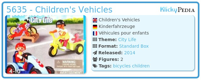 Playmobil 5635 - Children's Vehicles
